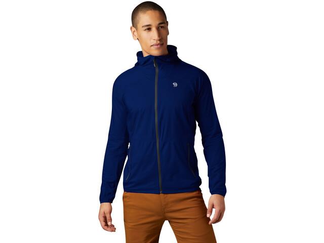 Mountain Hardwear Kor Preshell Veste à capuche Homme, nightfall blue